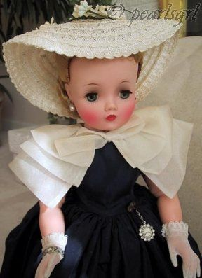 Madame Alexander Cissy doll dress #2141 1957