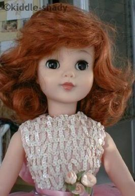 Polly doll 1960s Madame Alexander