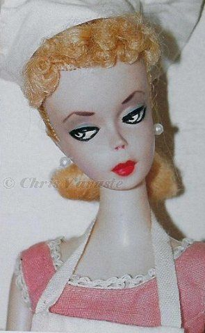 First Barbie doll #1 original Barbie-Q 1958 1959 Mattel