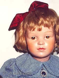 Schoenhut doll wooden wood intaglio eyes 1916 1917