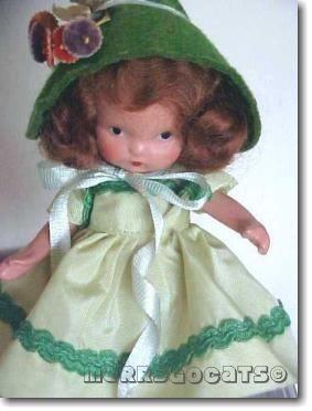 Nancy Ann Storybook doll bisque Little Joan #111