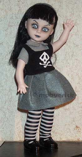 Mildread Living Dead Series 10 Mezco goth doll