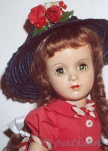 Madame Alexander Margaret O'Brien doll