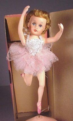 Valentina ballerina doll Valentine Dolls 1950s