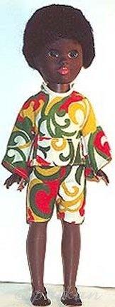 Malaika Shindana Toys Aajib black African-American 1960s