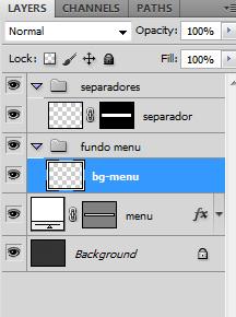 [Tutorial] Elegante menu azul no photoshop Tmenu-p19