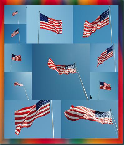 framedflagcollage