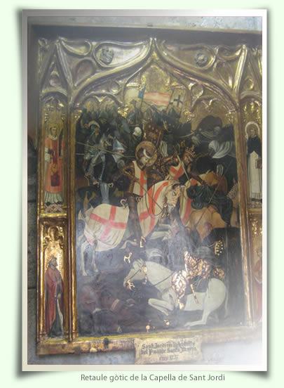 Retaule de la capella de Sant Jordi