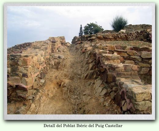 Fotografia del Poblat Ibèric del Puig Castellar