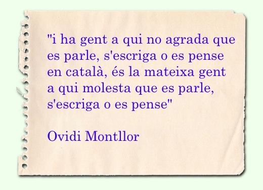 Cita Ovidi Montllor
