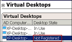 XenDesktop Agent not registered in Citrix Delivery Services Console