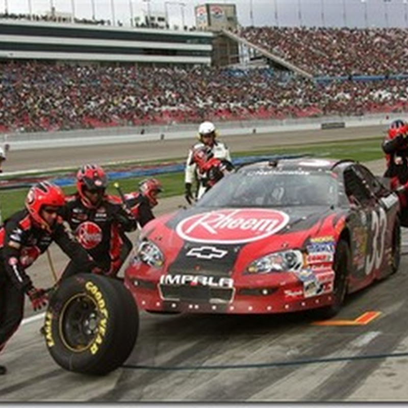Lady Luck on Harvick's Side in Vegas