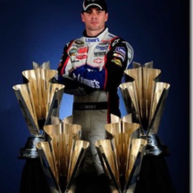 Jimmie Johnson adds Personal Touch to Hall of Fame