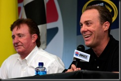 2010 Charlotte All Star Kevin Harvick and Richard Childress
