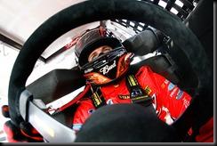 2010 Dover1 NSCS practice Kasey Kahne in car