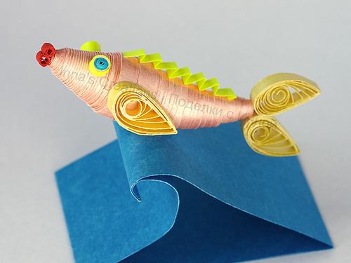 3D Paper Quilling