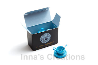 Miniature quilled cup