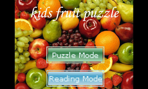 Kids Fruit Puzzle