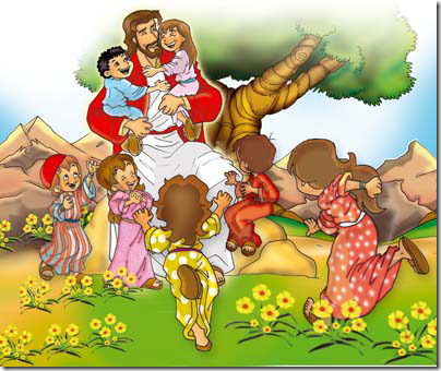 jesus-e-as-criancas