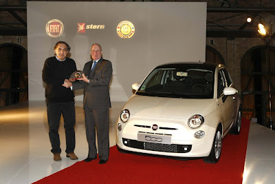 Fiat 500 USA: Fiat 500: The Awards...