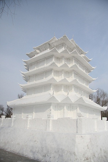 esculturas neve lindas gelo inverno arte (53)