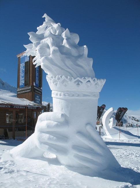 esculturas neve lindas gelo inverno arte (6)