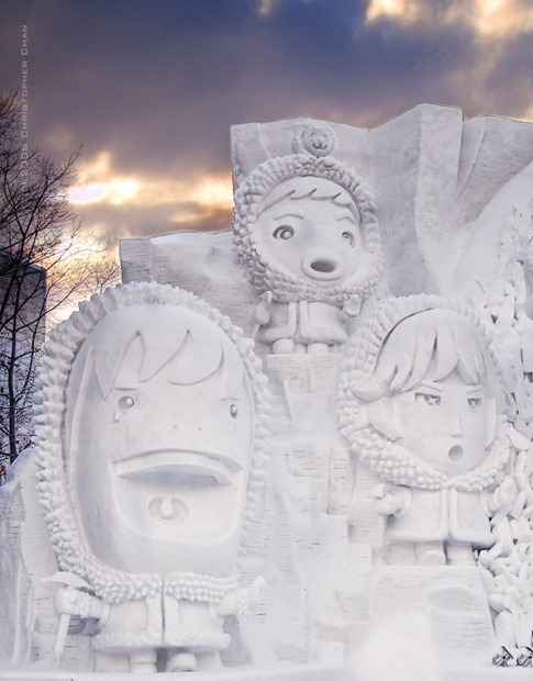 esculturas neve lindas gelo inverno arte (18)
