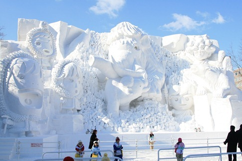 esculturas neve lindas gelo inverno arte (30)