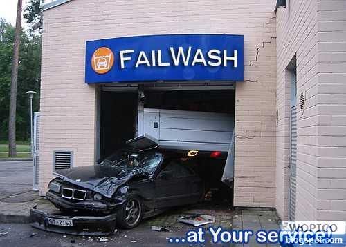 Fail to Wash