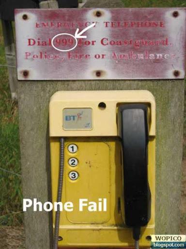 Phone Fail