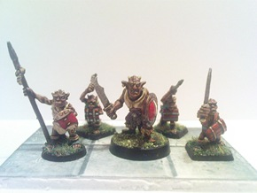 Hasslefree Mikal and Ral Partha Kobolds