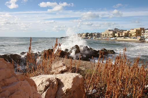 Anzio beach