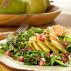 Fall Harvest Salad With Balsamic Vinaigrette