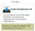 audio dropbox