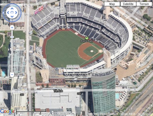 Oblique View of Petco Park