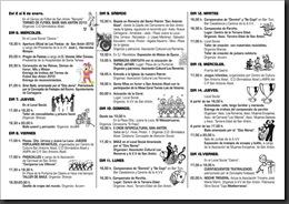PROGRAMA FIESTAS SAN ANTON 2010-2
