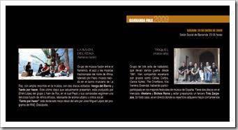LA FIESTA DE LAS CUADRILLAS 2009 - Programa-3