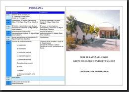 PROGRAMA DE LAS I JORNADAS DE FOLCLORE TRADICIONAL DE LA REGIÓN DE MURCIA-2