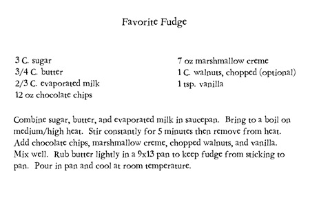 Favorite Fudge1