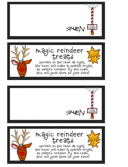Magic Reindeer Treats