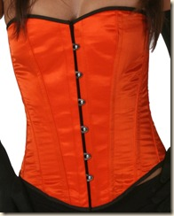 lvg9074-orange-satin-overbust-corset-front-1