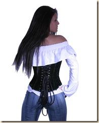 lvg0873-green-velvet-underbust-corset-back