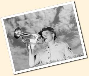 wartime woman