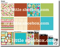 my little shoebox green summer cha 2010