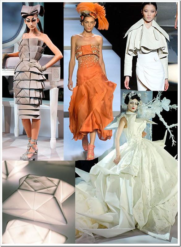 Style origami-Haute couture
