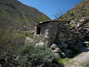 Old cattleman's linehouse in RockHouse Canyon