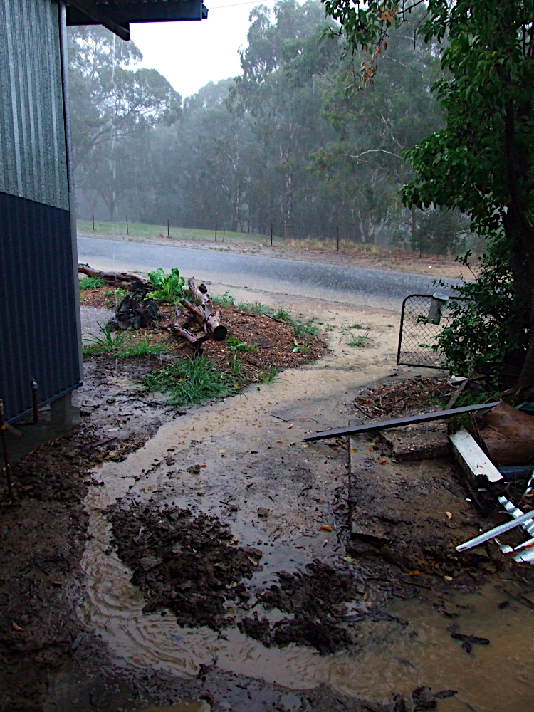 how to fix overflowing rain gutters