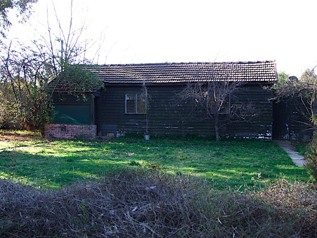 The original house when purchased