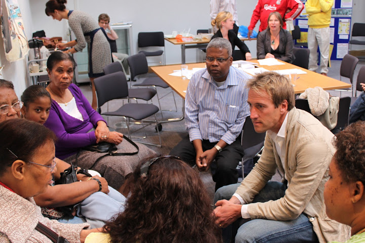 Ben Fogle speaks with Chagossians