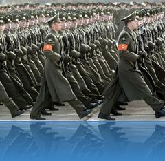Russische Truppen in Bewegung